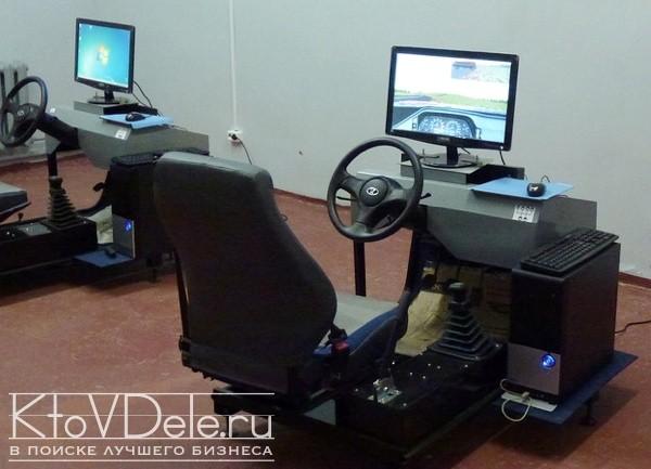 Тренажер для обучения вождению