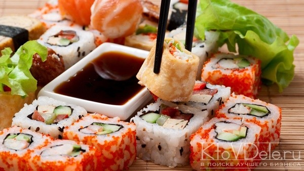 Бизнес-план доставки суши