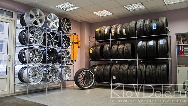 Продажа дисков и резины при мастерской