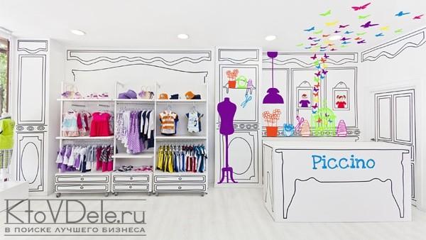 Креативный дизайн детского магазина