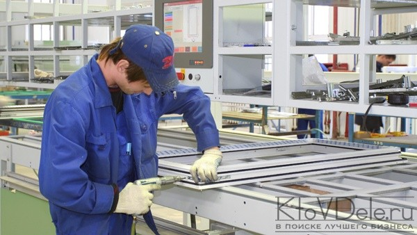 Бизнес-план производства пластиковых окон