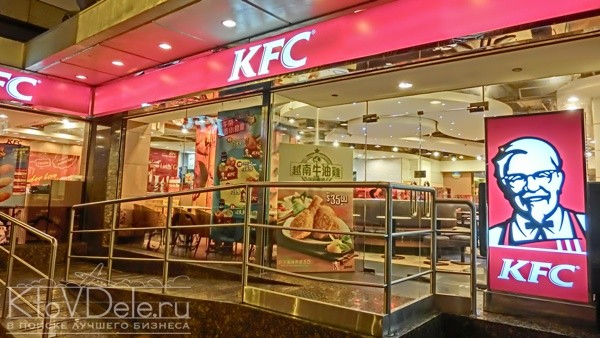 Оформление заведения по франшизе KFC