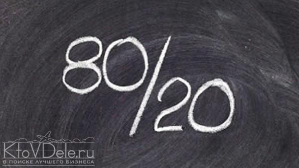 Принцип парето 80/20