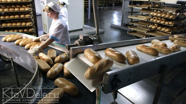 Работа пекарни