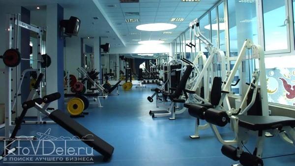 Тренажеры в спортзале