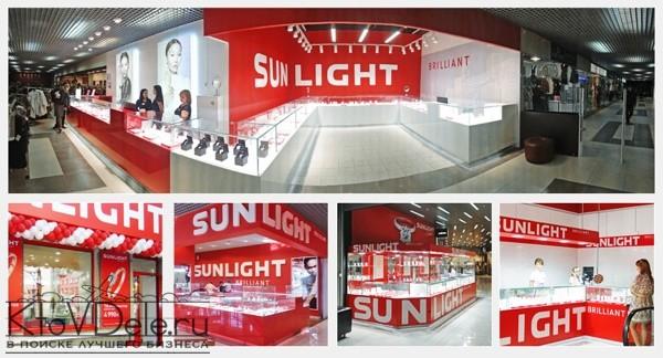 Магазин по франшизе франшизе Sunlight