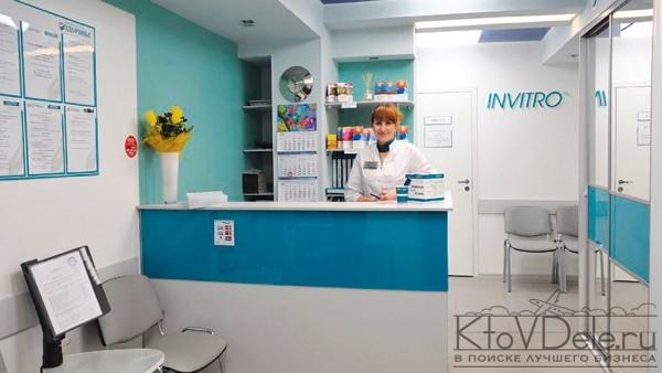 оформление медицинской лаборатории Инвитро