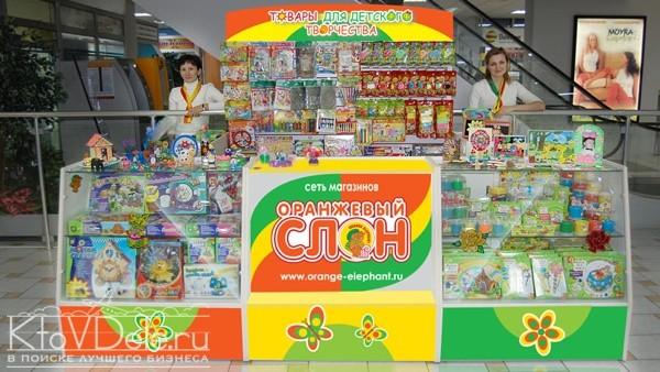 Оранжевый слон — магазин товаров для детского творчества