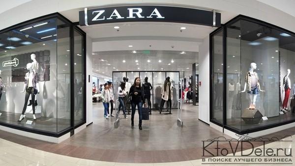 Магазин Зара в торговом центре
