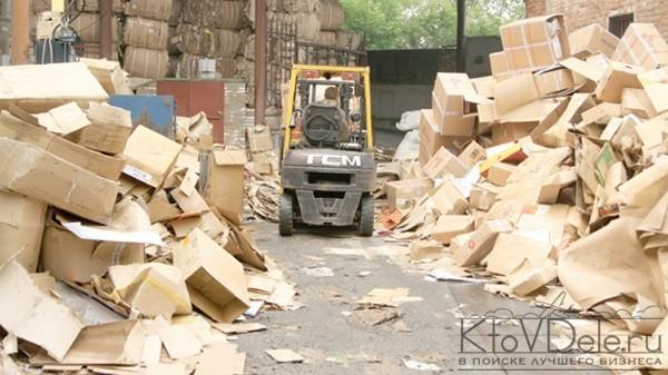 переработка бумаги и картона как бизнес