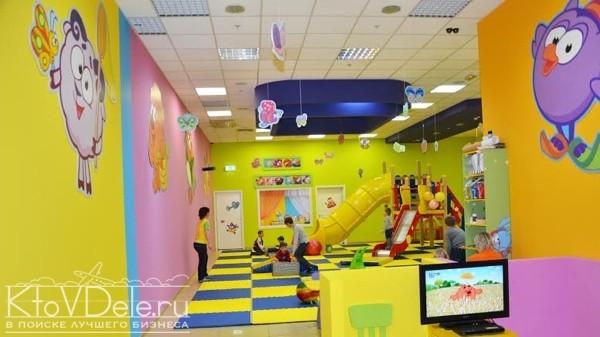 Детский развлекательный клуб смешарики