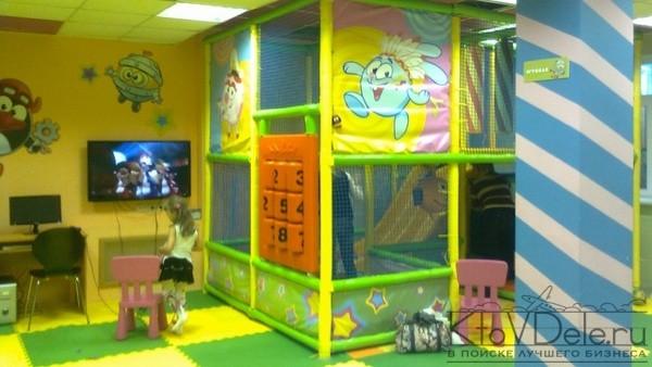 Игровая комната смешарики