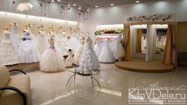Оформление свадебного салона