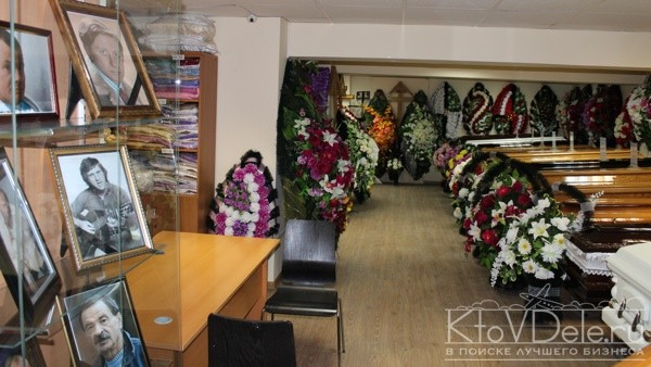 Бизнес план похоронного агентства