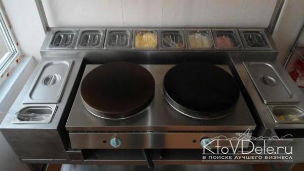 Оборудование для выпечки блинов