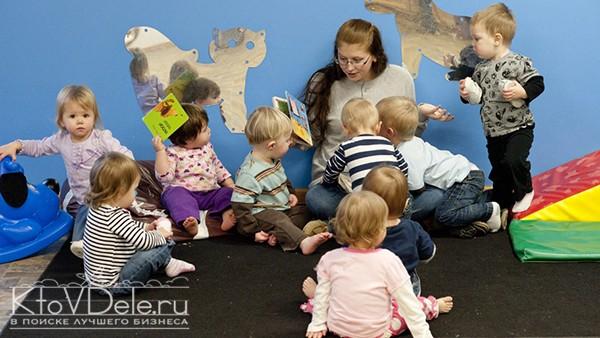 персонал детского развивающего центра
