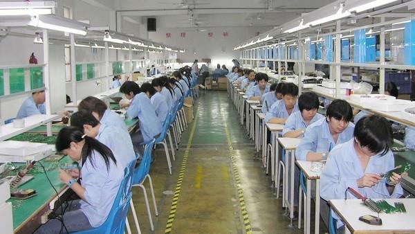 Производство мелкой электроники в Китае