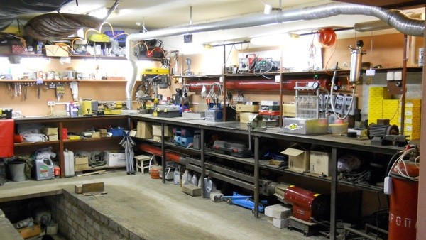 Оборудовать гараж своим руками фото 335