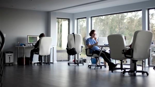 шикарный офис для стартап проекта