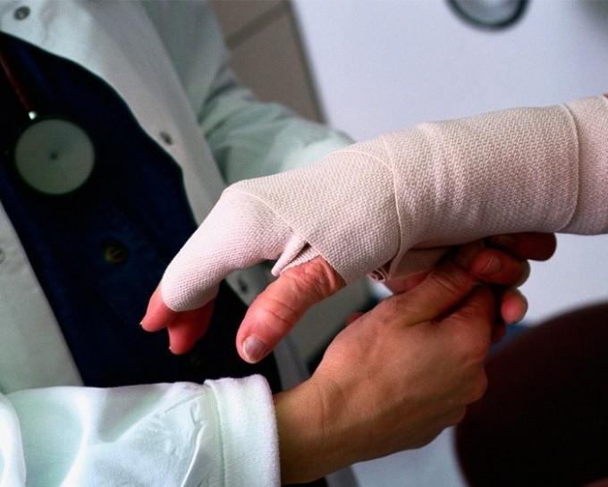 определение степени тяжести производственной травмы
