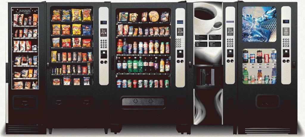 виды вендинговых автоматов