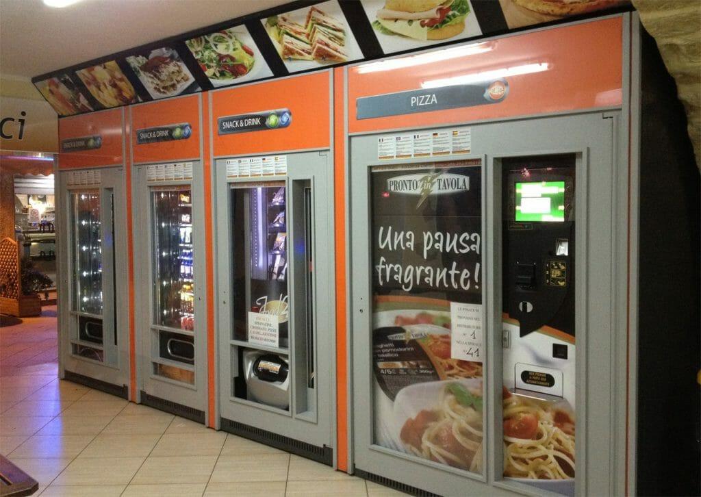 торговый автомат по продаже горячей еды